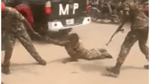 Nigerian Army arrest officers who brutalized physically-challenged man in Onitsha, Anambra state (Video)