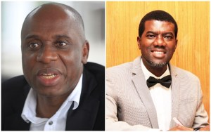 , You are a decorated monkey only loyal to your stomach- Reno Omokri blasts Rotimi Amaechi, Effiezy - Top Nigerian News & Entertainment Website