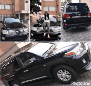 Rosaline Meurer gets a Lexus jeep for her birthday