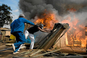 Nigerian automobile dealer looses 240million naira during the South African Xenophobic attacks