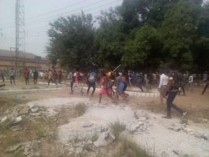 , FUTO students protest over exorbitant school fees (Photos), Effiezy - Top Nigerian News & Entertainment Website