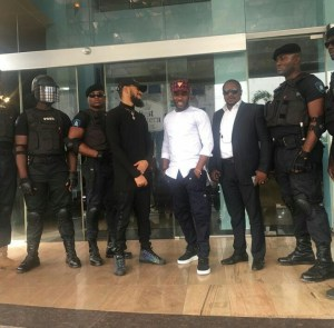 , Fans mob Phyno and former Super Eagles coach,Jay Jay Okocha, Effiezy - Top Nigerian News & Entertainment Website