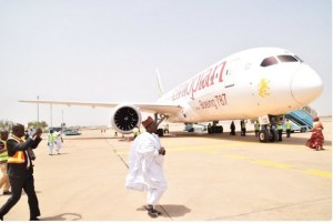 First International aircraft lands in Kaduna