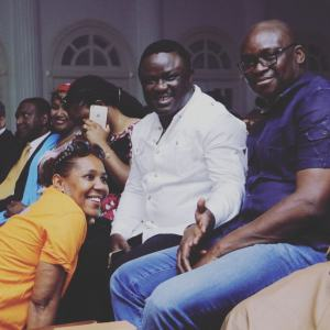 Governors Ayade and Fayose attend Shan George's movie premiere