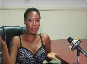Stephanie Otobo steps out in another raunchy outfit for another interview