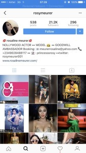 , Rosy Meurer disables comments on Instagram after fans cuss her out for sleeping with Tonto Dikeh's husband, Effiezy - Top Nigerian News & Entertainment Website