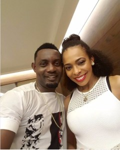 Nigerians react to AY and TBoss' picture together
