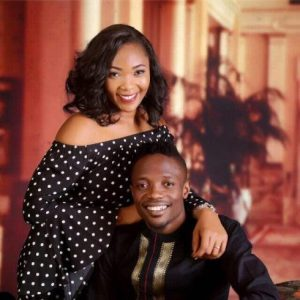 Ahmed Musa and rumored side chick release pre-wedding photo