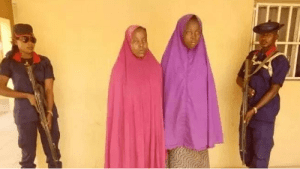 The wife of a Boko Haram leader arrested