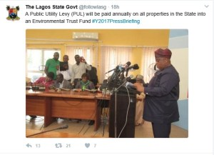 , Lagos State set to release Public Utility Levy, Effiezy - Top Nigerian News & Entertainment Website