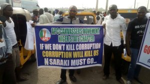 Saraki must go protest holds in Minna, Niger state