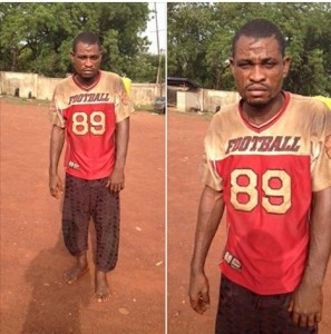 It's the work of the devil, man who killed uncle confesses
