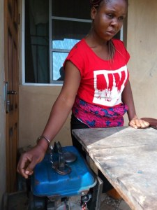 Man in Ogun state chains wife to a generator set from dusk till dawn