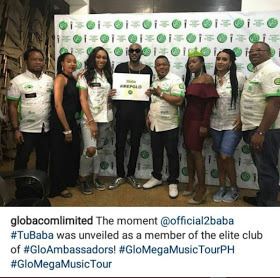 Tu Face made globacom Ambassador