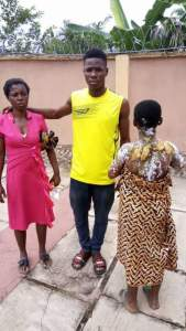 Woman and her husband disappear after disfiguring a young girl
