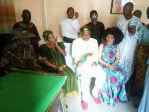Priests visit Nnamdi Kanu and wife in their home