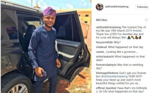 The scariest day of my life was the day I proposed to Lilian Esoro- Ubi Franklin