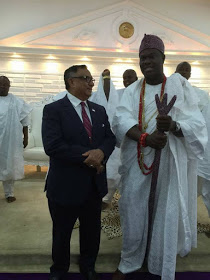 Canadian Lawmaker arrives Nigeria to officially invite Ooni of Ife
