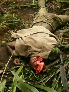 PDP Chieftain hacked to death in Delta State- Graphic photo