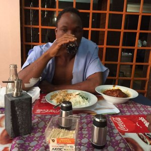 Man who was rescued by Tonto Dike tells his side of the story
