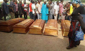 Farmers killed by Fulani Herdsmen buried amidst tears