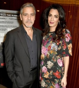 George Clooney and wife,Amal, welcome twins