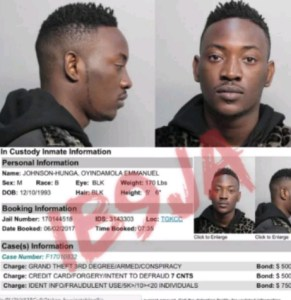 , Nigerian Musician,Dammy Krane arrested for fraud in the US- Instablog9ja, Effiezy - Top Nigerian News & Entertainment Website
