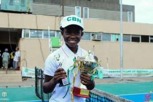 12-year-old Nigerian tennis sensation makes history