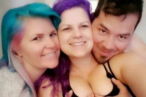 Shocking! Couple who engages in threesome relationship (Photos)