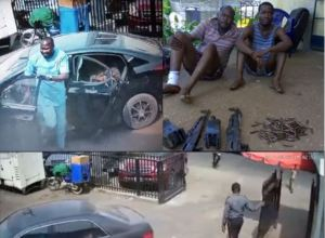 CCTV footage of the Zenith Bank, Owerri, robbery attack that left 5 dead (Video + Photo)