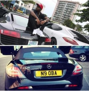 Nigerian Celebrities with their luxury cars