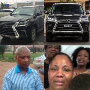 Evans' Wife drove latest 2016/2017 Lexus – OAP, Freeze reveals