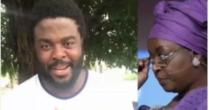 Video: Aremu Afolayan curses Diezani Alison-Madueke: 'It shall not be well with you'