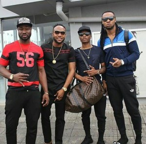 Kcee, Harrysong, Wizkid And Flavour In throwback photo