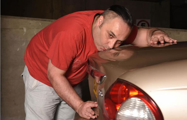 Man has sexual relationship with car