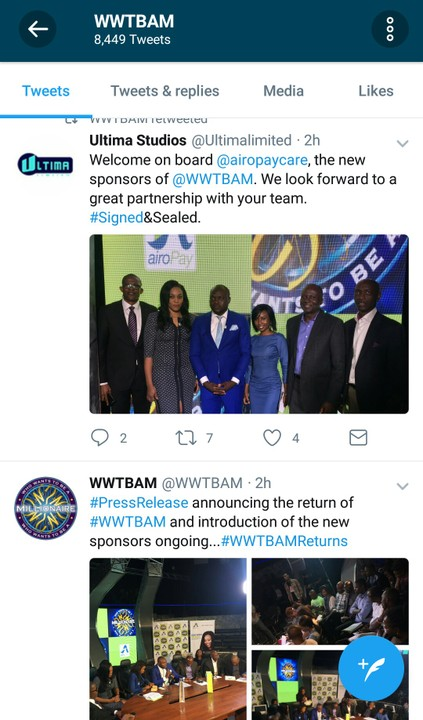 , Who Wants To Be A Millionaire is back on air, Airopay replaces MTN as sponsor, Effiezy - Top Nigerian News & Entertainment Website