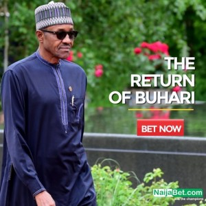 Joke or Business? Nigerian betting site opens online betting on when Buhari will return