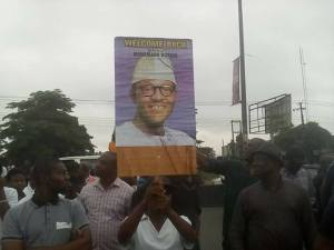 Rivers State Indigenes Stage Welcome Back Rally For President Buhari (pictures)