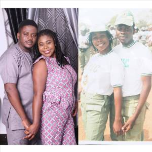 , Couple who met in NYSC camp share their love story with lovely family photos, Effiezy - Top Nigerian News & Entertainment Website