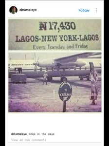 Dino Melaye Shares Cost Of Flying From Nigeria To New York Back In The Days