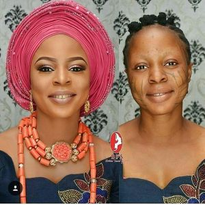 """This Is Fraud"" – Media react to Lady's make up transformation Photo"
