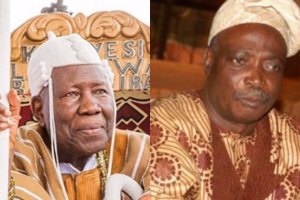Olubadan, Ladoja absent as Ajimobi presents staffs of office to 21 new Obas in Ibadan [Full list]
