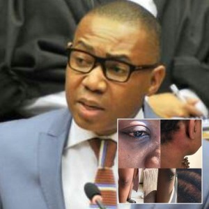 Manana, South African minister beats up lady for calling him gay (Photos, Video)