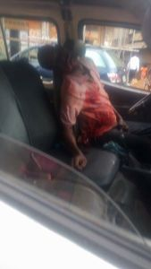 Strange World! Passengers flee as bus driver bleeds to death while driving in Anambra (Graphic Photos)