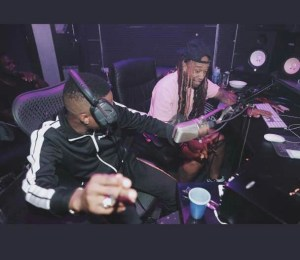 TY Dolla Sign and Wizkid in the studio (Photos)