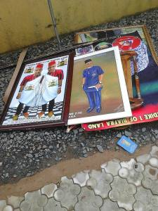 Nnamdi Kanu's house after Military invasion in Umuahia (Photos)