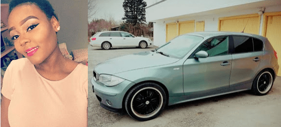 , 19-year-old girl flaunts her third car in two years (Photos), Effiezy - Top Nigerian News & Entertainment Website