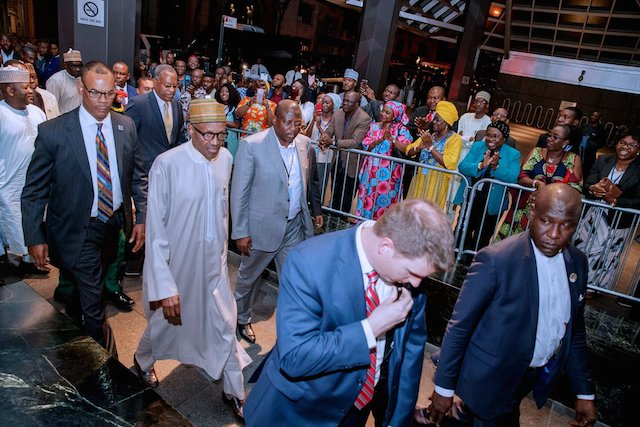 , Buhari arrives New York, listed as 8th Speaker at UNGA, Effiezy - Top Nigerian News & Entertainment Website