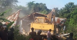 Police demolish three shrines in Lagos, rescue couple