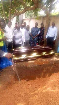 , Burial of 10-year-boy, Somto, killed during demolition of Eke-Ukwu market in Owerri (Photos), Effiezy - Top Nigerian News & Entertainment Website